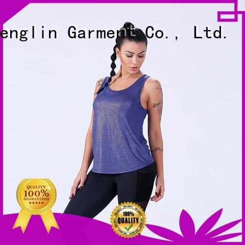 Yufengling stable female tank top sporting-style for trainning