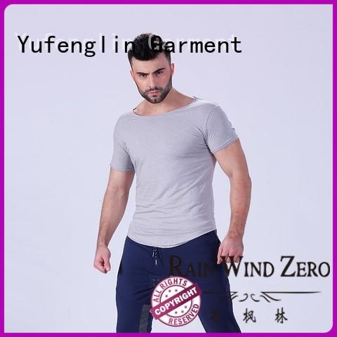 gym t shirt for men o-neck in gym Yufengling