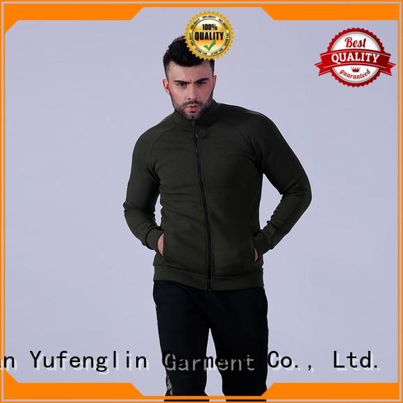 Yufengling awesome mens fashion hoodies design for sports