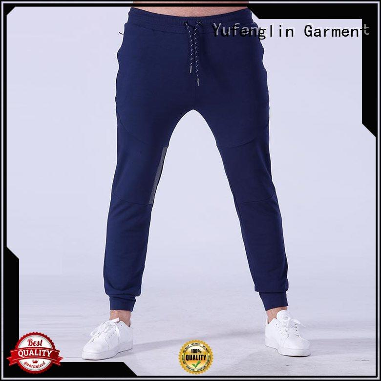 sweatpants male jogger pants breathable gymnasium Yufengling