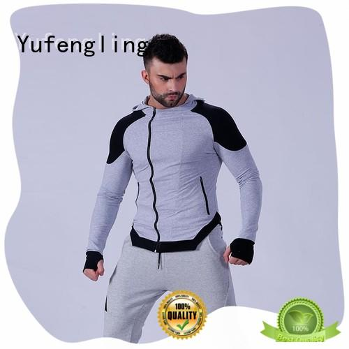 gym sexy design athletic Yufengling Brand gym hoodie supplier