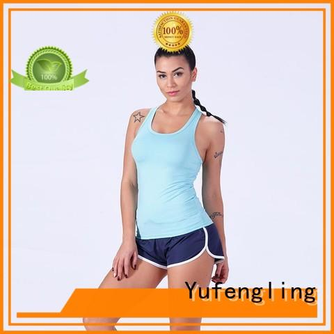 womens best tank tops for women yoga wear colorful Yufengling