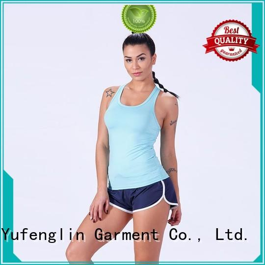 Yufengling exquisite female tank top fitness colorful
