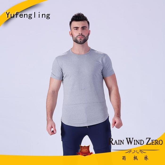quality gym t shirt supplier gymnasium Yufengling