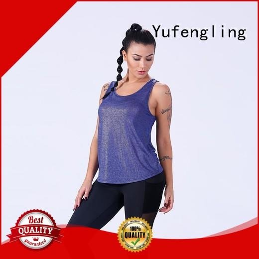 Yufengling stringer ladies tank tops gym shorts for training house