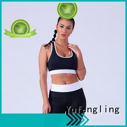 Yufengling outstanding custom sports bra yoga wear
