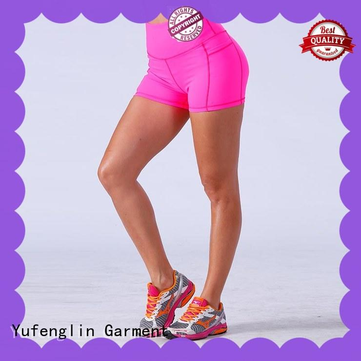 sports ladies gym shorts athletic suitable style Yufengling