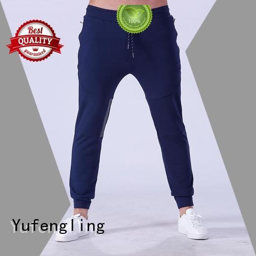Yufengling plain mens jogger pants gymnasium