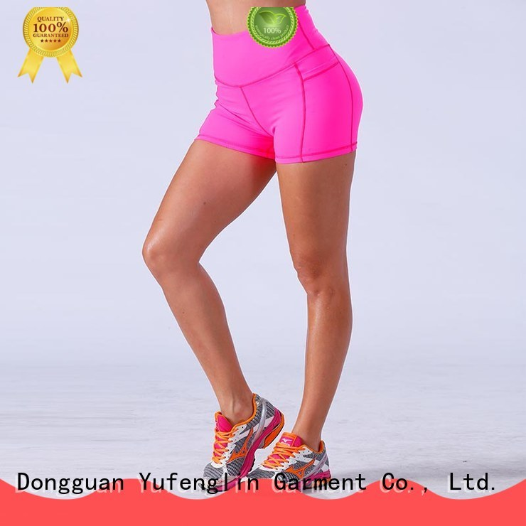 Yufengling lovely athletic shorts womens for-womans colorful