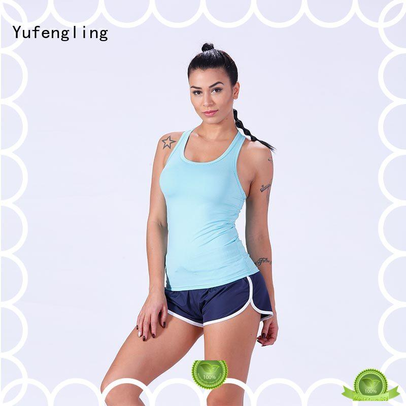 fine- quality female tank top female fitness exercise room