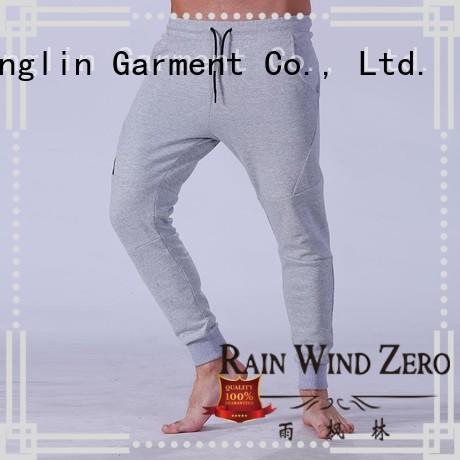 fine- quality mens jogger pants gym nylon fabric yoga room