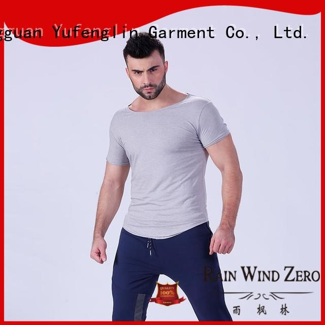 Yufengling high-quality workout t shirts mens for-mens fitness centre