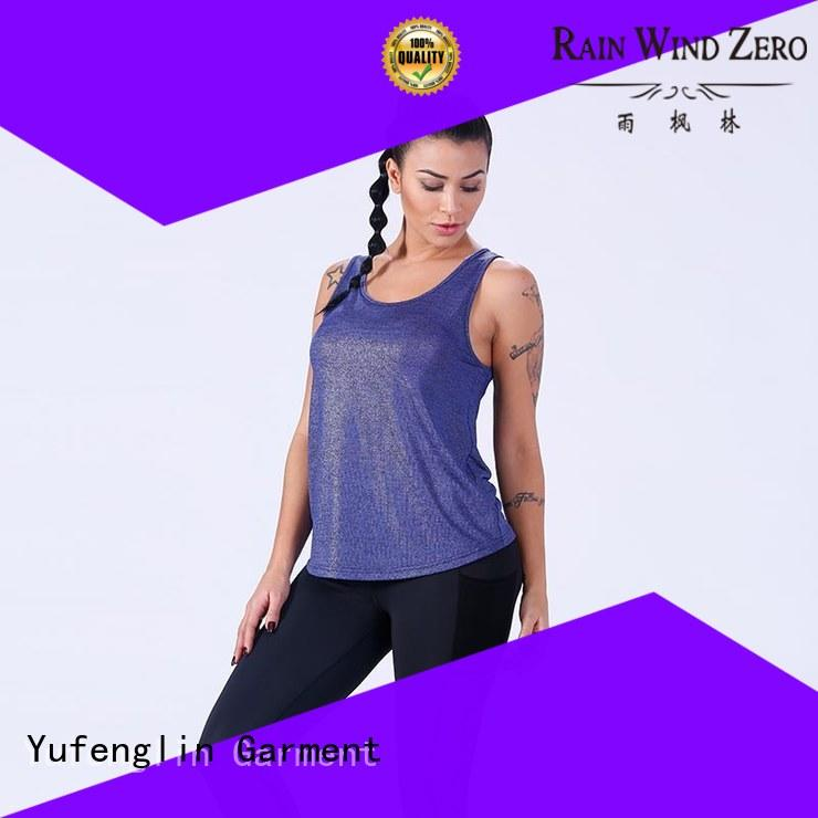female women tank top fitting-style workout Yufengling