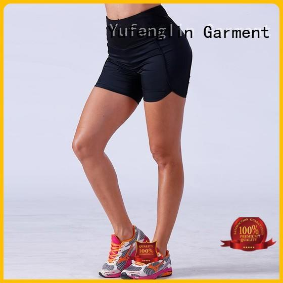 Yufengling fitness womens sports shorts fitting-style