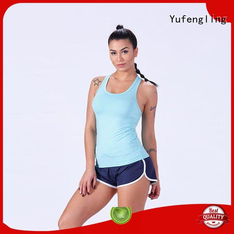 Yufengling fitness ladies tank tops fitting-style
