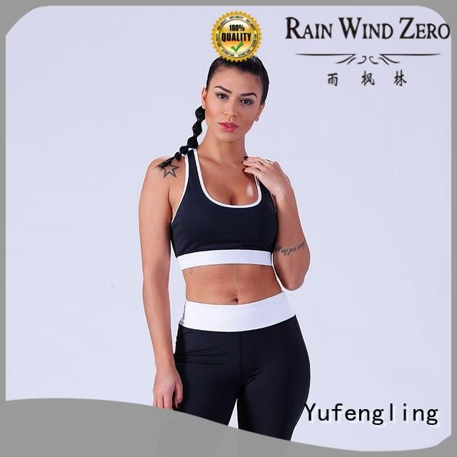 Yufengling new-arrival women's sports bras for trainning