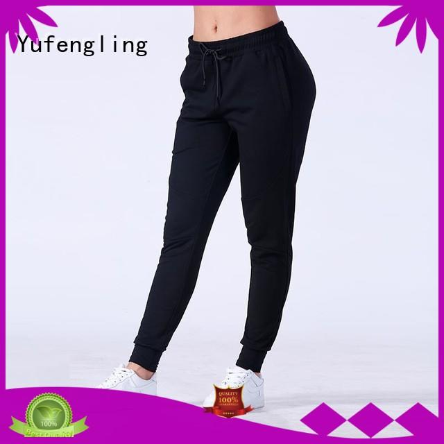 gym jogger pants women  manufacturer colorful Yufengling