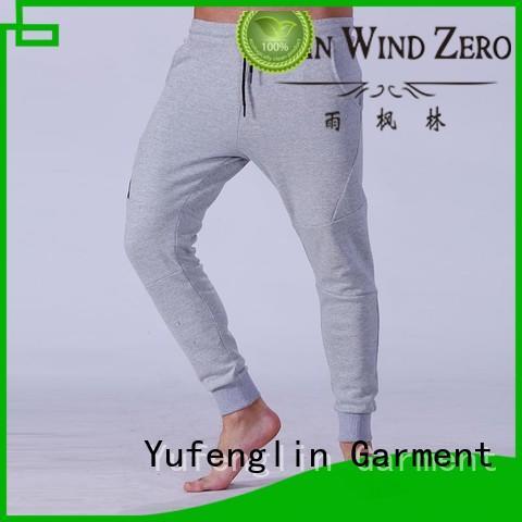 cargo mens jogger pants nylon fabric yoga room Yufengling