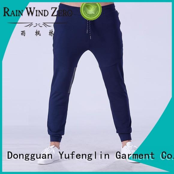 Yufengling durable mens joggers for-running gymnasium