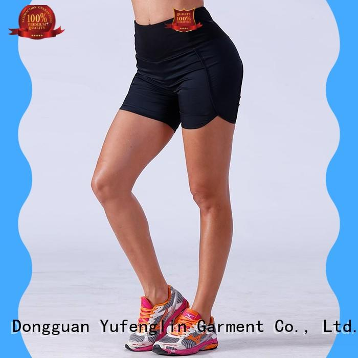 yflshw01 girls gym shorts shorts suitable style Yufengling