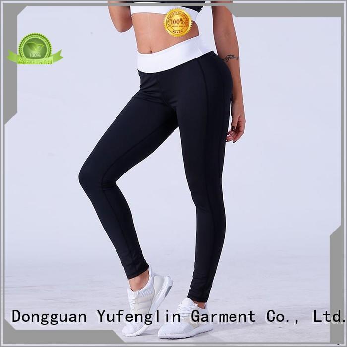 Yufengling yogawear high waist leggings pati-color gymnasium