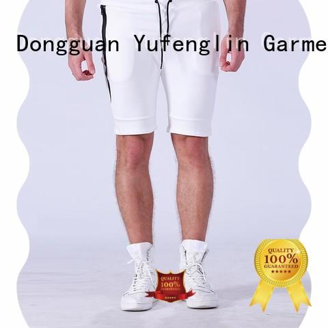 sport mens workout shorts factory