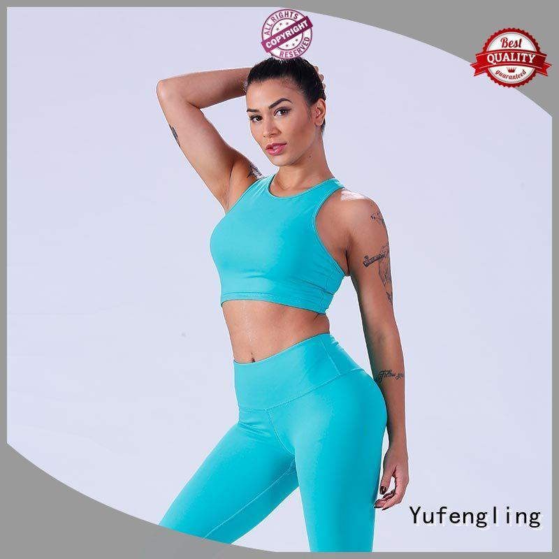 Yufengling yflsbw01 women's sports bras wholesale exercise room