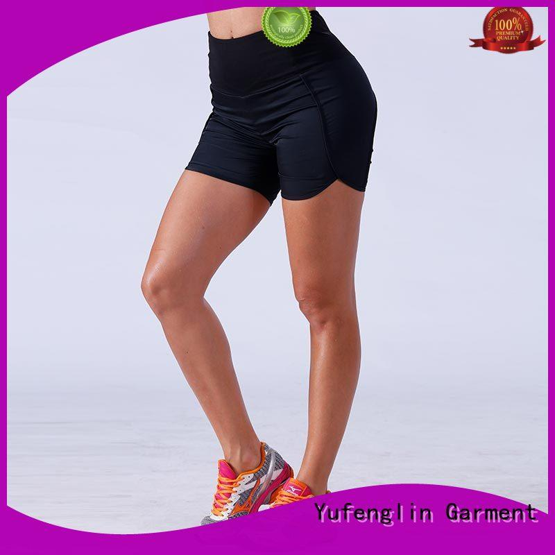 Yufengling athletic womens workout shorts wholesale colorful