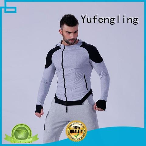 Yufengling magnificent mens fashion hoodies design for sports