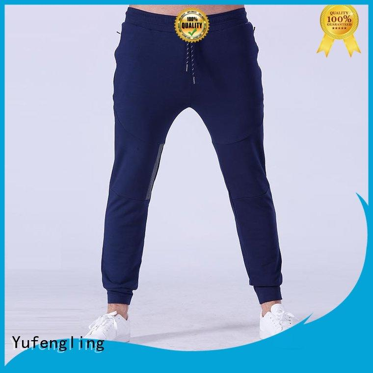 fit mens slim jogger pants gym in gym Yufengling