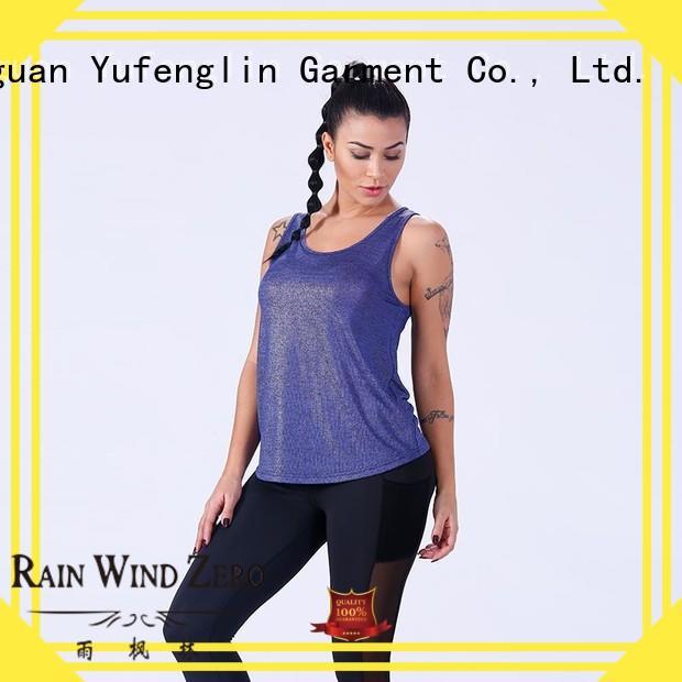 female women tank top sport for trainning Yufengling