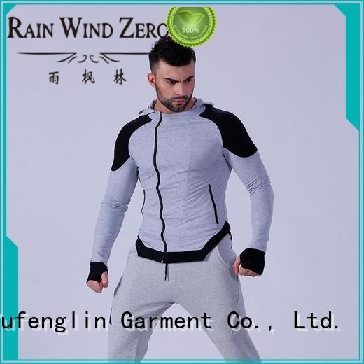 Yufengling fashion mens hoodie workout gymnasium