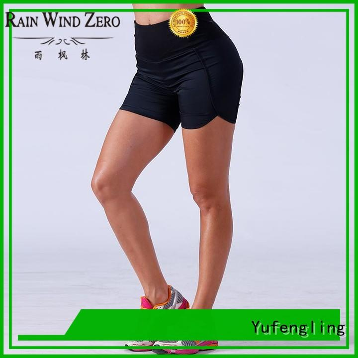 comfortable ladies sports shorts fitting-style for training house