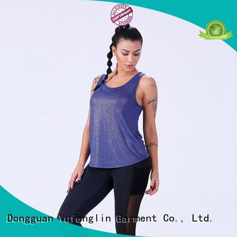 Yufengling quality female tank top casual-style gym shorts