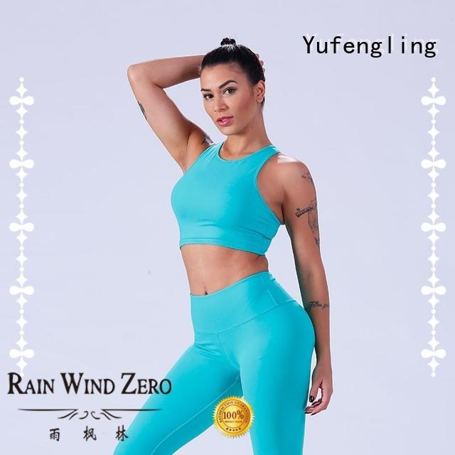 Yufengling crop best sports bra for running fitness centre
