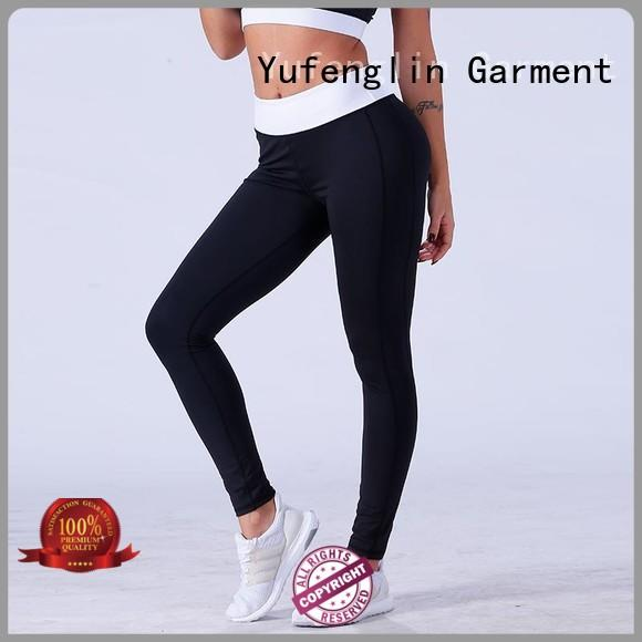 Yufengling comfortable seamless leggings pati-color gymnasium