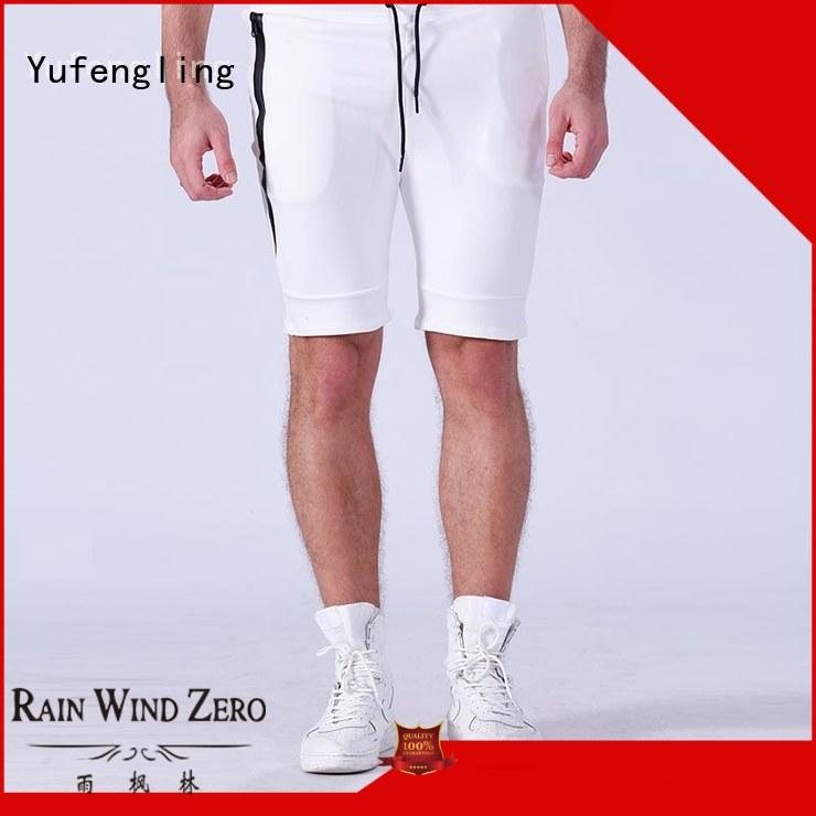 Yufengling fine- quality gym shorts men supplier in gym