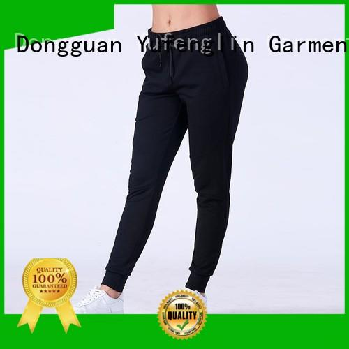 Yufengling color jogger sweatpants gym shorts