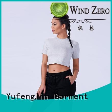 exquisite female t shirt sport wholesale yoga room