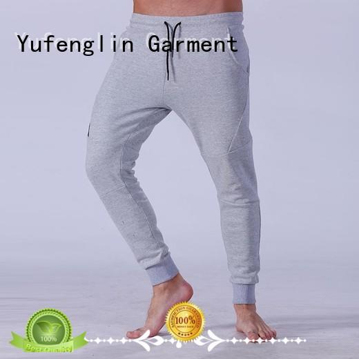 cargo male jogger pants gym shorts fitness centre Yufengling