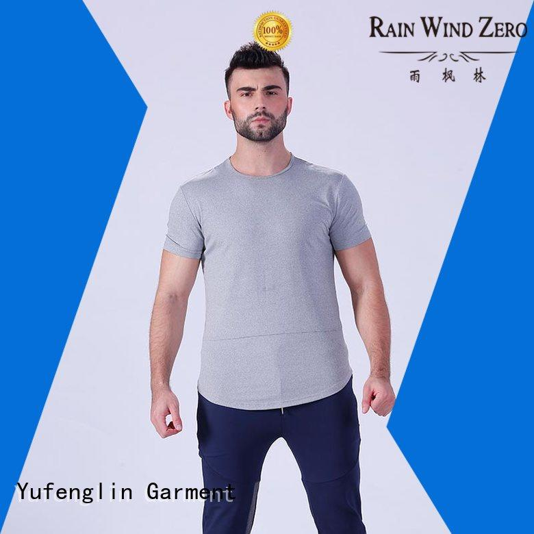 quality mens t shirt plain wholesale fitness centre