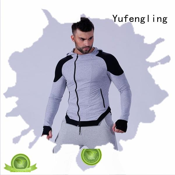 athletic mens fashion hoodies gym in gym Yufengling
