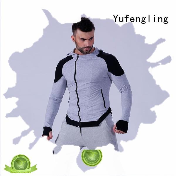 athletic mens fashion hoodies gym in gym Yufengling