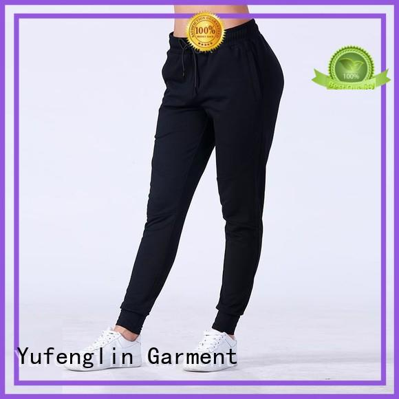 Yufengling color casual jogger pants manufacturer colorful