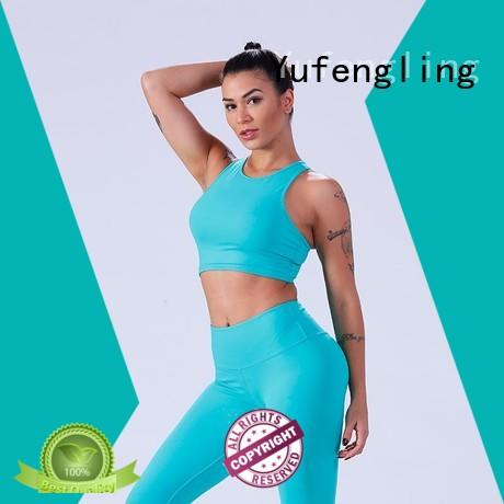 Yufengling top women's sports bras casual-style gymnasium