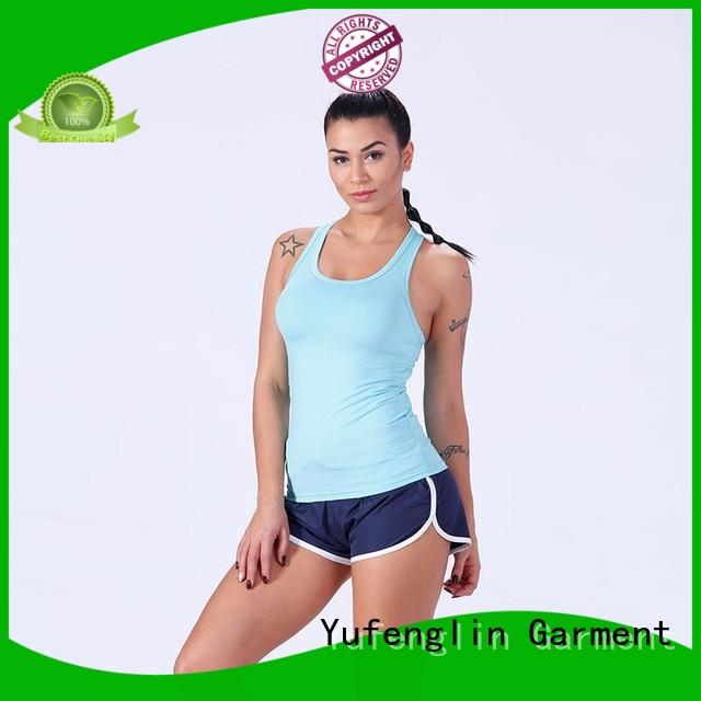 Yufengling alluring ladies singlet tops yoga