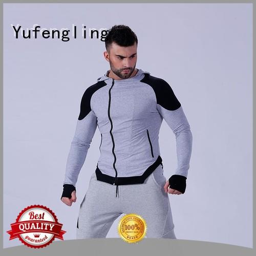 Yufengling new-arrival mens hoodies and sweatshirts yoga room