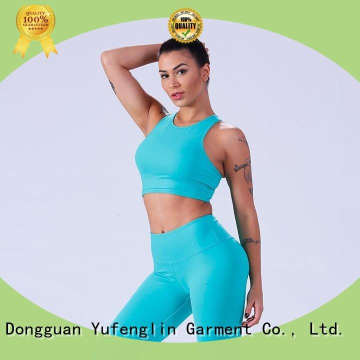 Yufengling yflsbw02 women's sports bras gymnasium