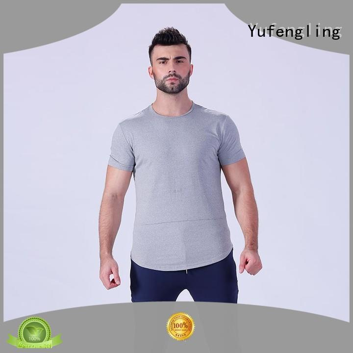 Yufengling bodybuilding fitness t shirt o-neck