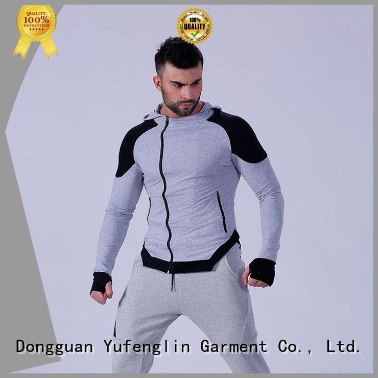 Yufengling design gym hoodie perfectly matching fitness centre
